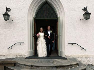 kirke-trapp-nygift-selebrasjon